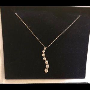Infinity Diamond Necklace-Kay Jewelers